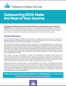 Outsourcing RCM Whitepaper Screenshot