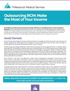 Outsourcing RCM Whitepaper Screenshot