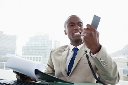 Disorganized accounts receivable management can frustrate patients and result in angry phone calls.