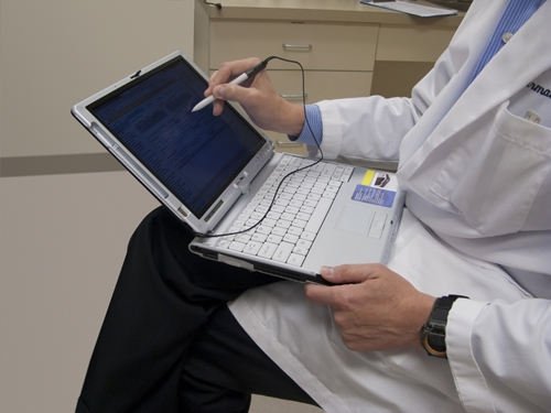 Electronic medical records are a common tool in today's practices.