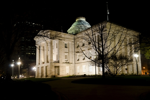 Senators in North Carolina's state capital are working to reach an agreement on expanding Medicaid within the state.