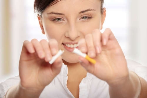Smoking cessation programs helps lower health care costs.